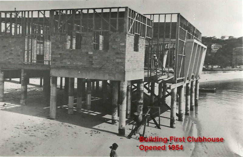 Building the first MHYC Clubhouse