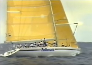 Rothmans in the Sydney to Hobart Yacht Race 1990