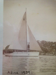 Adina 1939. Picture supplied by George Borrowman