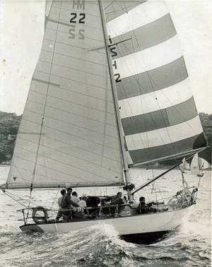 Photo of Kaleena under sail