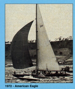 1972 American Eagle - Line Honours and Handicap winner
