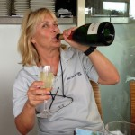 Julie Hodder Celebrating Coffs win