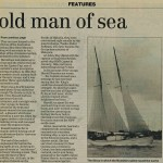 Epic Voyage at end for old man of Sea