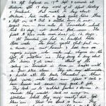 Letter from Colon by Dick Nossiter 5th Dec 1936