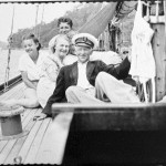 Nossiter family on the deck of the yacht SIRIUS | by Australian National Maritime Museum