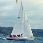 Sydney to Mooloolaba 1991 Race Start - Force Eleven (3152), J. H. Galloway