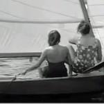 Stills from Two Boys and a Boat - The girl skipper is Terry Glasson who was one of our top juniors in the club at that time