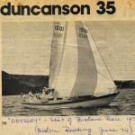Odyssey - Start of the Sydney to Brisbane Yacht Race 1974