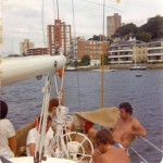 Odyssey in the Sydney to Brisbane Yacht Race 1974