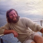 Charlie Herbert on Odyssey in Montague Island Race 1976