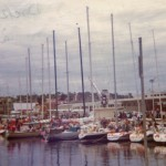 Constitution Dock Hobart 1976