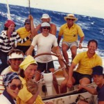 Sailing down the Molokai Passage on Big Schott from Maui to Hononlulu