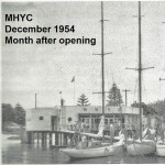MHYC clubhouse in Dec 1954