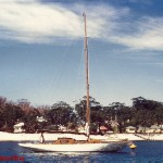 Eudoria in Shoal Bay 1960