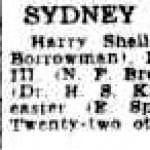 Sydney Morning Herald 16th March 1936