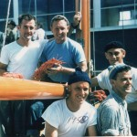Siandra in the Sydney to Hobart Yacht Race 1965