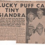 Lucky Puff Catches Tiny Siandra 1958 Hobart