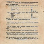 Sailing Instructions for Sydney to Hobart Yacht Race 1956 Page 4