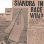 Siandra in Race Win? Hobart 1960