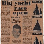 1958 Hobart Fleet Big Yacht Race Open