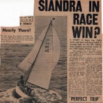 Siandra in Race Win?