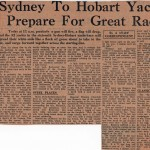 Sydney to Hobart Yacht Race 1960 Prepare for Great Race