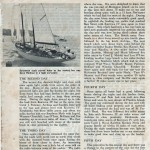 16th Sydney to Hobart Article in Powerboat and Yachting 1961 Page 3