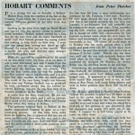 16th Sydney to Hobart Article in Powerboat and Yachting 1961 Page 5