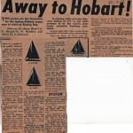 Away to Hobart 1961