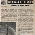 Graham Newland: Yachtman of the Month