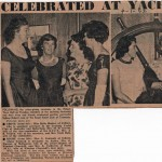 1961 Hobart Celebrations at the Royal Yacht Club of Tasmania