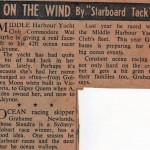 On the Wind - article about Graham Newland and Wal Burke