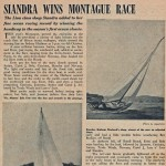 Siandra Wins Montague Race 1958