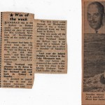 Win of the Week - Siandra in 1960 Hobart