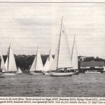 Start of MHYC Race in early 50