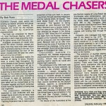 The Medal Chasers - Gary Gietz