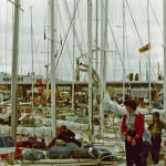 Finish of the 1980 Sydney to Hobart Yacht Race