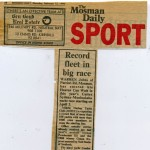 The Mosman Daily article on Sydney to Mooloolaba Yacht Race 1990