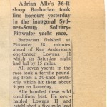 1972 South Solitary Island Race