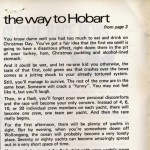 The Way to Hobart by Rob McAuley