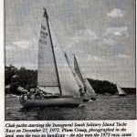 Start of the Inaugural South Solitary Island Race 27 Dec 1972