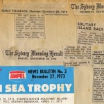 Various Articles on the 1972 South Solitary Island Race