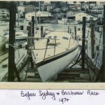 Odyssey - Before the start of the Sydney to Brisbane Yacht Race 1974