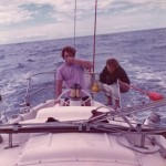Montague Island Race 1974 - Johnny Duggan, Charlie Herbert, Ron Derrin