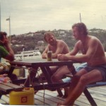 New Years Morning 1976 at Middle Harbour Yacht Club