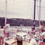 Start of the Sydney to Mooloolaba Yacht Race 1975